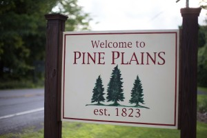 Pine Plains Welcome Sign